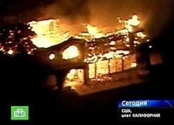 В Санта-Барбаре лесными пожарами уничтожены более ста домов