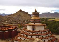 В результате ДТП в Тибете пострадали 46 человек