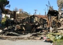 Калифорния после пожаров