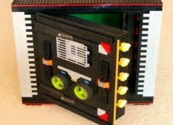 Сейф из конструктора Lego