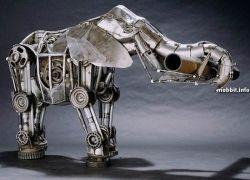 Очень красивые механические животные