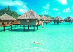 Остров Бора Бора - французская Полинезия