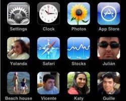 FaceCall для iPhone добавит фото друзей в иконки быстрого набора