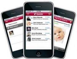 MMS с iPhone? Mobispine разработал официальное приложение