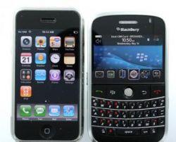 BlackBerry победил iPhone на рынке бизнес-смартфонов