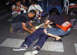 В Бангкоке от взрыва гранаты пострадало восемь человек