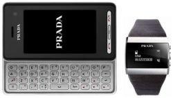 В комплекте с LG KF900 Prada будут идти наручные часы Bluetooth
