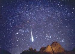 Канадские полицейские засняли на видео падение метеорита