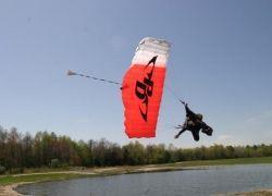 Swooping - горизонтальные прыжки с парашютом