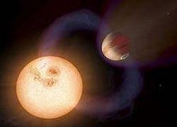 В атмосфере экзопланеты обнаружен углекислый газ