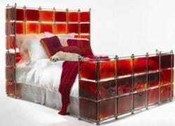 Идеи для вашего дома: стеклянное ложе