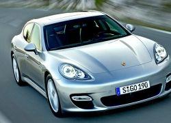 Первые фото седана Porsche