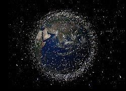 На орбите вокруг Земли обнаружено 2 миллиона тонн мусора