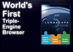 Lunascape - три браузера в одном