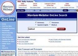 Словарь Мерриама-Вебстера выбрал слово 2008 года
