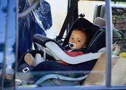 Как возить детей в автомобиле