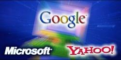 Google продолжает вытеснять Microsoft и Yahoo