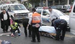 Израиль занял первое место по количеству сбитых пешеходов