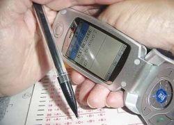 Как сдать экзамен с помощью мобильника?