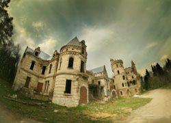 Заброшенный замок во Владимирской области