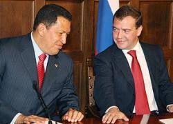 """Россия и Чавес: \""""оборонка\"""", нефть и атом"""