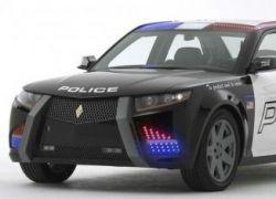 Новая машина американских полицейских