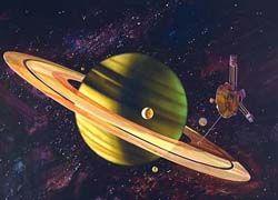 Учёные нашли воду на спутнике Сатурна