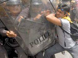 Оккупация аэропорта в Бангкоке: демонстранты разогнали полицейских