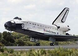 Шаттл Endeavour благополучно приземлился в Калифорнии