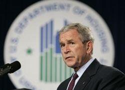 Буш публично извинился за мировой кризис
