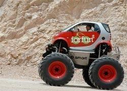 Из автомобиля Smart сделали внедорожник