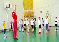 Занятия физкультурой предотвращают нервные расстройства у детей