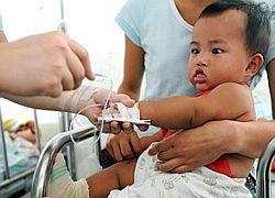 290 тысяч детей стали жертвами меламина