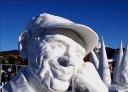 Галерея снежных скульптур