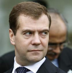 Слова Дмитрия Медведева как масло