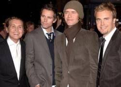 Новый альбом Take That побил рекорд Coldplay