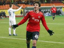 Алан Дзагоев признан лучшим молодым футболистом России