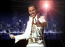 Эффектный образ Барака Обамы