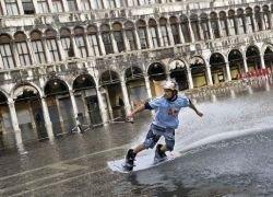 Турнир по вейкбордингу в Венеции