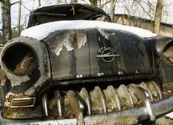 Свалка раритетных автомобилей