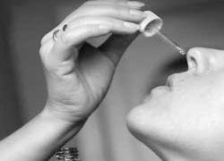 Зависимость от средств борьбы с насморком