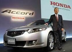 Honda представила в Японии новое поколение Accord