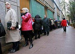 Безработица в США достигла рекорда за 15 лет