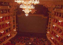 В театре Ла Скала - забастовка