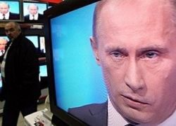 В Москве люди заряжают воду голосом Путина