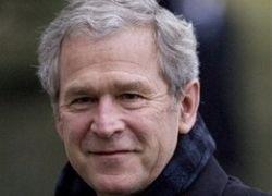 """Джордж Буш пригласил гостей на свое \""""повешение\"""""""
