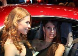 Девушки автосалона в Болоньи