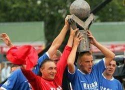 Российские бомжи заняли второе место на футбольном чемпионате в Австралии