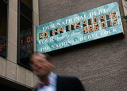 Дефицит американского бюджета может удвоиться
