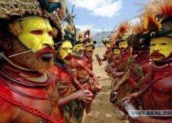 Красочный мир папуасов